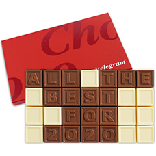 Chocoladetelegram 28 all the best for 2017
