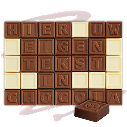 chocotelegram 35 blokjes