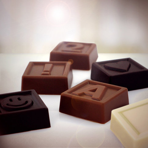 chocotelegram chocolaatjes