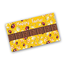 chocotelegram 7 blokjes in geschenkdoos Easter